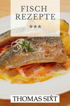 Fisch ist gesund und #Fisch macht schön... wertvolles Eiweiß schmeckt noch dazu lecker. Probiere diese Fisch #Rezepte aus... garantiert vorzüglich. #Perfektes #Dinner, heute aber sicher!  #Kochrezepte für Fisch vom #Chefkoch mit Sterne-Tipps! Fish Recipes, Seafood Recipes, Snack Recipes, Leftover Pork Roast, Cuban Sandwich, Delicious Dinner Recipes, Freshwater Fish, What To Cook, Fish And Seafood