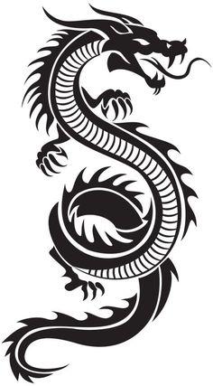 Chinese Dragon Silhouette PNG Clip Art Chinesischer Drache Silhouette PNG ClipArt # Art This image. Dragon Tattoo Drawing, Red Dragon Tattoo, Tribal Dragon Tattoos, Small Dragon Tattoos, Dragon Tattoo For Women, Chinese Dragon Tattoos, Dragon Tattoo Designs, Chinese Dragon Drawing, How To Draw Dragon Tattoo