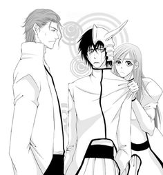 Hahaha!!  That's just sooo cute! Ulquiorra and Orihime - ulquiorra-and-orihime Fan Art