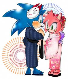 Tags: Anime, Sonic the Hedgehog, Sonic the Hedgehog (Character), Amy Rose, Sega