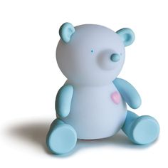 Giimmo Night Light - Terry the Bear - $49.95 - Adorable rechargeable Giimmo Night Light, Terry the Bear!  Earnest, sweet and cheerful!  Introducing the world's most effective night light by far!  Don't believe us?  Just wait and see - these magical night lights will become your little ones best friend and bed time will never have been so easy! #littlebooteek #baby #boy #gifts #bedroom #nursery #decor #giimmo