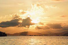 VSCO - Every cloud has a silver lining. #stunning #sunset #orange #beautiful #real #nature #hongkong #sea #scenery #clouds #shining  | hlamiris