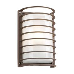 View the PLC Lighting PLC 2038 1 Light Outdoor Wall Sconce from the Evora Collection at LightingDirect.com.