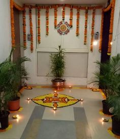 Discover some pretty interesting ways to do your pooja room decoration. Festive season calls for special decor; check out these pooja room decoration ideas.