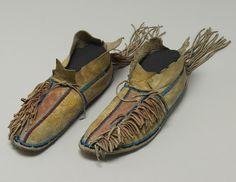 Мокасины, Южные Шайены. 1890 год. Коллекция Чендлера-Порта.