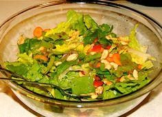Weer een heerlijk recept voor een salade, in Amerika geleerd! Healthy, skinny, kleurrijk en lekker. Toch fijn, al die inspiratie die ik op m'n laatste USA-trip