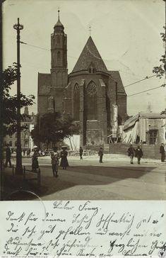Plac Dominikański i kościół św. Wojciecha.   Dodał: maras - Administrator° - Data: 2015-01-01 01:15:36 - Odsłon: 418 Rok 1909