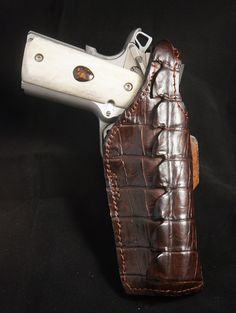 Wicho Leather Creations | EXOTIC GUN HOLSTERS