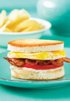 Chicken Club Sandwich - Breakfast Sandwich Maker Recipe