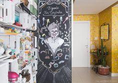 Casa, estúdio, local de trabalho, ponto de encontro... O apê da blogueira Danielle Noce e de seu marido, Paulo Cuenca, é tudo isso e mais um pouco. Como não poderia deixar de ser, a decoração revela o estilo pessoal dos dois, que misturam sem medo referências do universo da culinária com objetos […]