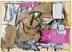 Willem de Kooning, Boudoir, 1950, Sotheby's