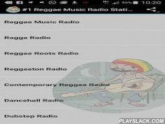 #1 Reggae Music Radio Stations  Android App - playslack.com ,  Listen to top Reggae, Ragga, Dub Music on your android device with the best Free Internet Radio Stations. Now over 500 live streams!Easy to use app with instant Track Info and share function.Turns radio automatically off, when you receive a call!Wherever you are, the most fun from top Reggae online radio stations is with you!This is a FREE ad-supported App, but without any annoying push ads! I recommend a fast internet connection…