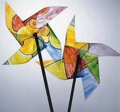 Twirly pinwheels craft kit