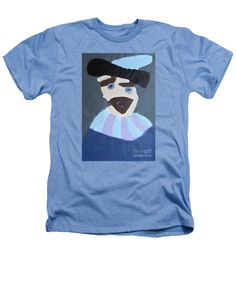 Patrick Heathers T-Shirt featuring the painting Young Rembrandt In A Plumed Hat 2014 - After Rembrandt by Patrick Francis