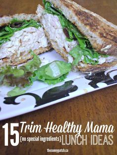 Following the Trim Healthy Mama plan? Check out this great list of 15 meal ideas - no special ingredients needed!
