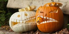 Kürbis schnitzen für Halloween, Halloweenkürbis, Kürbis schnitzen Vorlage