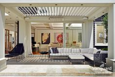 Transform your deck into a unique outdoor space with a pergola with motorised louvres. Pay a visit to Louvretec Australia & explore our deck roofing options! Pergola Canopy, Pergola Shade, Diy Pergola, Pergola Kits, Pergola Ideas, Pergola Cover, Outdoor Areas, Outdoor Rooms, Indoor Outdoor