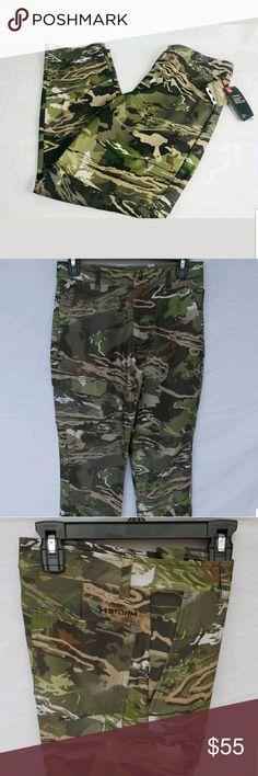 b9daab97cf18cd Under armour forest camo boys pants New Boy's Under Armour Stealth Early  Season Pants Style #