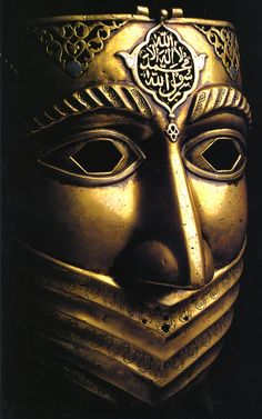 Iranian battle-mask, from the Safavid Dynasty (16th-18th c.)