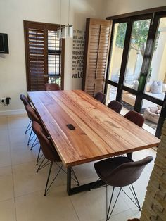 Dining Room Table, Conference Room, Furniture, Design, Home Decor, Dining Table, Meeting Rooms, Interior Design, Design Comics