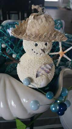 Last year in the hotel we stayed at Christmas they had a free standing snowman like this.  Our Pier1 did not.  I purchased this ornament today 10/15/2016  $6.95