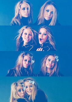 Olsen twins. I love watching Full House.