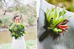 Berries and serene green. Erin + Tara Photography