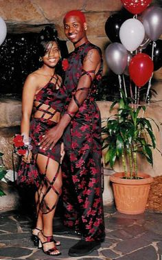 If your prom dress is made from the same fabric of your date's ensemble and color-coordinates with his hair, you might regret wearing it.
