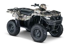New 2017 Suzuki Kingquad 500Axi Camo ATVs For Sale in Michigan. 2017 Suzuki Kingquad 500Axi Camo, In 1983, Suzuki introduced the world's first 4-wheel ATV. Today, Suzuki ATVs are everywhere. From the most remote areas to the most everyday tasks, you'll find the KingQuad powering a rider onward. Across the board, our KingQuad lineup is a dominating group of ATVs. With a long list of technologically advanced features, the 2017 Suzuki KingQuad 500AXi is equally at home on tough trails or…