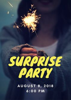 Image result for birthday event poster