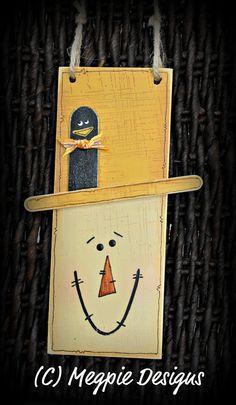 Make a hand painted scarecrow - Tutorial Tuesday - 365daysofcrafts.com — 365daysofcrafts.com