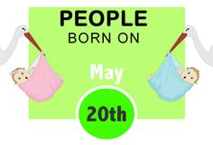 Numerological Personality Traits of People Born on May 20th