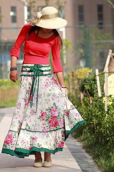 Skirt looks cute