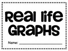Real Life Graphs Project PDF - bar graph, line graph and circle graph Freebie! Math Teacher, Math Classroom, Maths, Classroom Ideas, Graphing Activities, Numeracy, Real Life Math, Go Math, Fourth Grade Math