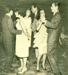 Elizabeth Taylor, Audrey Hepburn and Natalie Wood
