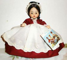 Little Women series Madame Alexander doll. This is the mother, Marme. My sisters and I had the Little Women series of dolls, with each of us having two. The last one, not a part of this series was a Dutch girl. These dolls came out in 1964 and I still have the complete set.
