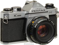 Pentax K1000: the old workhorse