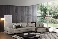 modern family room furniture - Modern Family Room with ...