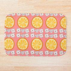 Orange Slices, Foam Cushions, Blossoms, Plastic Cutting Board, Bath Mat, Art Prints, Printed, Awesome, Artwork
