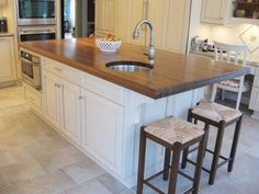 Grothouse lumber kitchen island we should extend the end of our