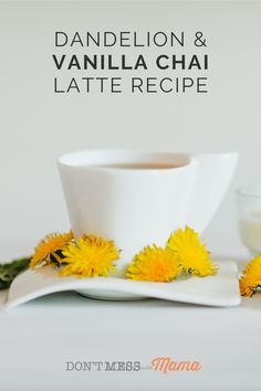 Looking for a caffeine-free alternative to a chai latte? Try this Dandelion Vanilla Chai Latte. It's easy to make, delicious and can be made dairy free too. Perfect for a healthy breakfast idea or to warm up on a cold day. Vanilla Chai Latte Recipe, Chai Recipe, Tea Recipes, Drink Recipes, Real Food Recipes, Easy Gluten Free Desserts, Best Gluten Free Recipes, Yummy Drinks, Healthy Drinks