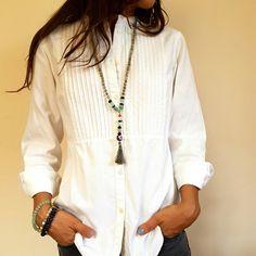 Yoga mala that doubles as a fashion necklace!