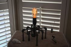 spider lamp for sale on Etsy
