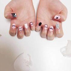 I put my nail polish like a pro! - My Nails Cute Spring Nails, Cute Nails, Pretty Nails, My Nails, Korea Nail Art, Nails Decoradas, Teen Nails, Classic Nails, Magic Nails