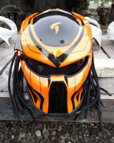 Predator helmets  Basic Helm NHK Cief Tiri Care DOT, Full Face Surely that's been with the National Indonesia (SNI) Additional accessories such as Lamp with on / off switch. »To the manufacturing...@ artfire