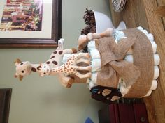 Sophie The Giraffe Diaper Cake You Know Are Getting Old When Yo