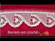 Barrado em crochê - CROCHÊ 40 - PASSO A PASSO - YouTube