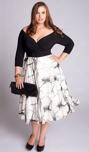 Kelly Dress By Igigi Specializing In Chic Cly Clothing For Curvy Women Sized 12 32 Caroline Gray Figure Flattering Fashion