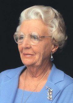 former Queen, Queen Juliana of the Netherlands
