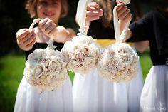 flower balls for the girls